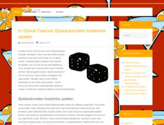 bs-markup.de screenshot