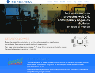 bsdsolutions.com.ar screenshot
