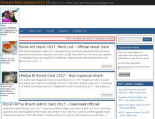 bsfrecruitments.in screenshot