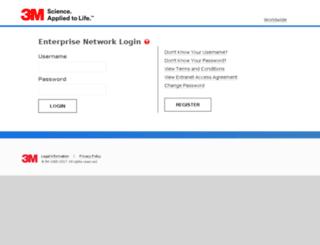 bsgrequestdesk.3m.co.uk screenshot
