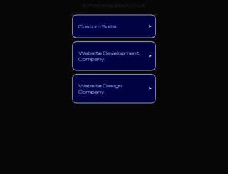 bspokewebdesign.co.uk screenshot