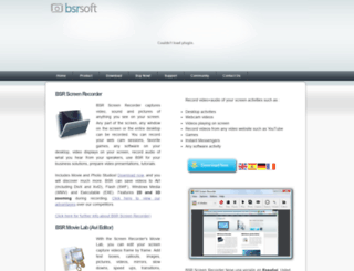 bsrsoft.com screenshot
