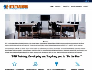 btbtraining.com screenshot