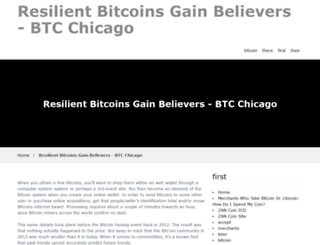 btcchicago.com screenshot
