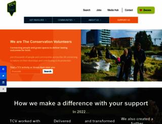 btcv.org.uk screenshot