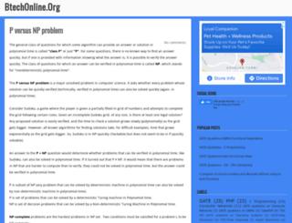 btechonline.org screenshot