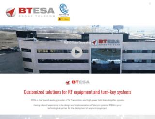 btesa.com screenshot