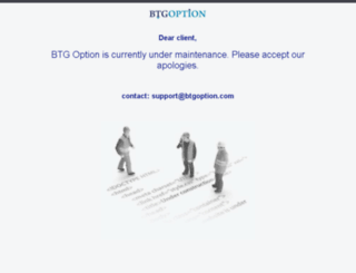 btgoptions.com screenshot