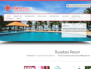 buadararesort.com screenshot