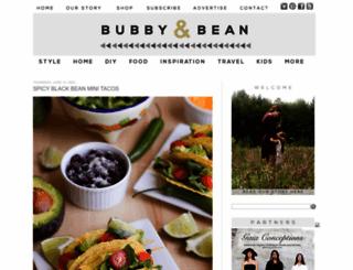 bubbyandbean.com screenshot