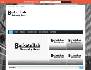 bubhopal.org.in screenshot