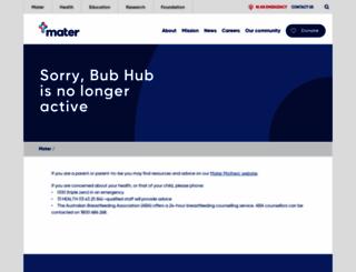 bubhub.com.au screenshot