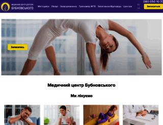 bubnovsky.com.ua screenshot