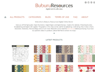 bubururesources.info screenshot