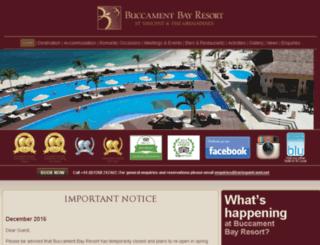 buccamentbay.com screenshot
