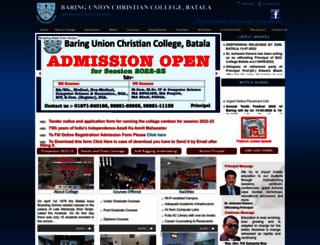 buccbatala.org screenshot