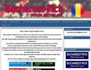 bucharest-pick.com screenshot