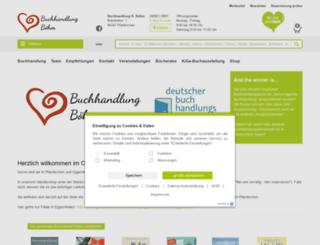 buchhandlung-boehm.shop-asp.de screenshot