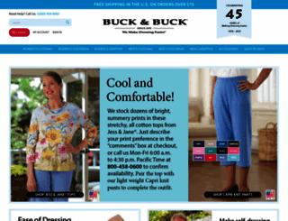 buckandbuck.com screenshot