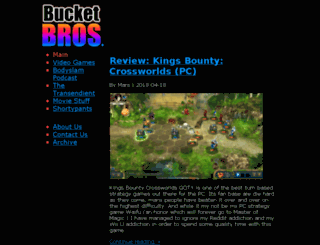 bucketbros.com screenshot
