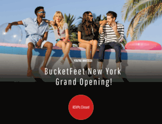 bucketfeetnewyork.splashthat.com screenshot