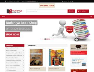 budaniyabookshop.com screenshot