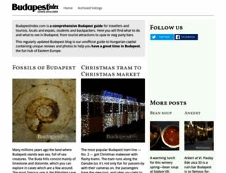 budapestindex.com screenshot