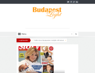 budapestlight.hu screenshot