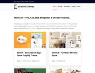 buddhathemes.com screenshot