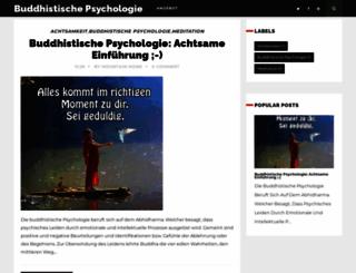 buddhistischepsychologie.blogspot.com screenshot