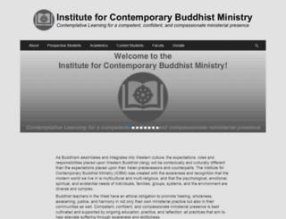 buddhistministry.org screenshot
