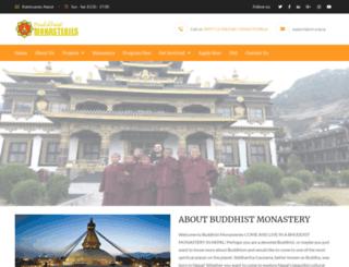 buddhistmonasteries.org screenshot