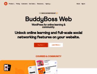 buddyboss.com screenshot