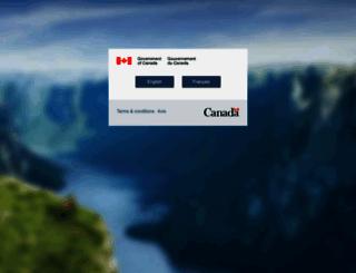 budget.gc.ca screenshot