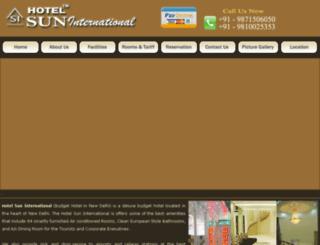budgethotelinnewdelhi.com screenshot