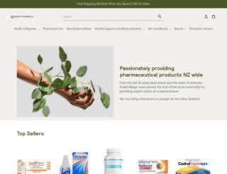 budgetpharmacy.co.nz screenshot