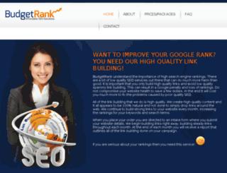 budgetrank.com screenshot