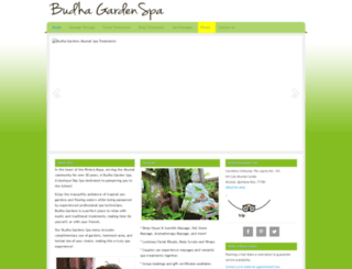 budhagardenspa.com screenshot