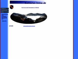 buehlertal-online.de screenshot