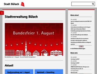 buelach.ch screenshot
