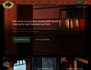 buffalo-lumber.com screenshot