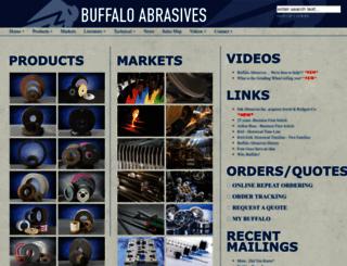 buffaloabrasives.com screenshot