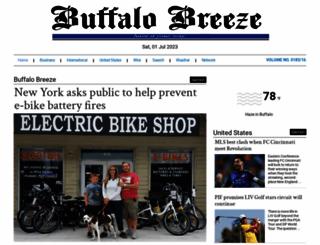 buffalobreeze.com screenshot