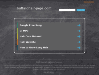 buffalohair-jage.com screenshot