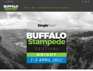 buffalostampede.com.au screenshot