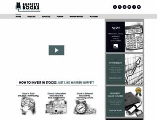 buffettsbooks.com screenshot