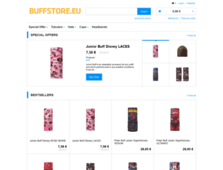 buffstore.eu screenshot