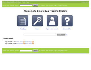 bugs.linaro.org screenshot