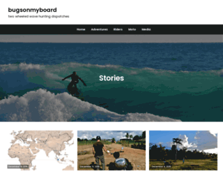bugsonmyboard.org screenshot