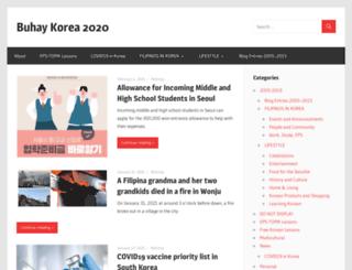 buhaykorea.com screenshot